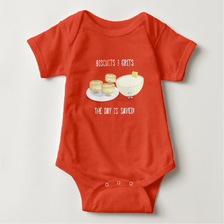 Biscuits and Grits   Baby Bodysuit