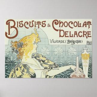 Biscuits & Chocolat Poster