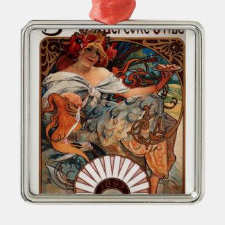 Biscuits Lefevre-Utile Metal Ornament