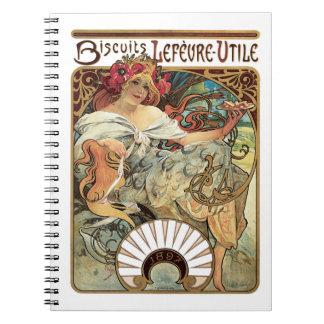 Biscuits Lefevre-Utile Note Book
