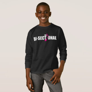 Bisectional Boy's Dark Long Sleeve T-Shirt