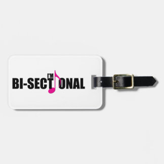 Bisectional Luggage Tag