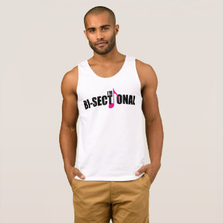Bisectional Men's Basic Tank Top