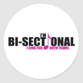 Bisectional Sticker