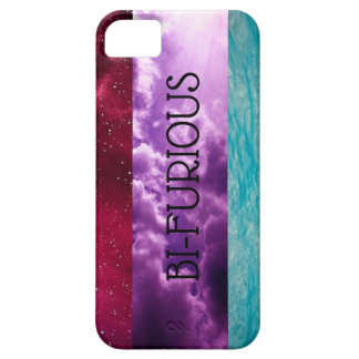Bisexual bi-furious phone case