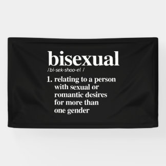 bisexual definition - defined lgbtq terms - LGBT D Banner