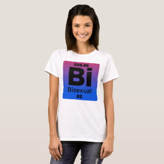 Bisexual Element For Bisexual LGBT T-Shirt