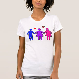 Bisexual Female Pride T-Shirt