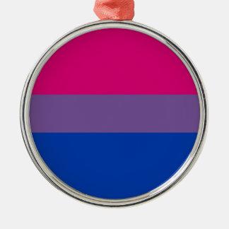Bisexual Flag Metal Ornament