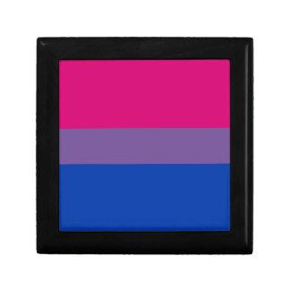 Bisexual LGBT Pride Rainbow Flag Gift Box