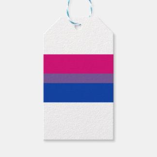 Bisexual LGBT Pride Rainbow Flag Gift Tags