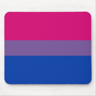 Bisexual LGBT Pride Rainbow Flag Mouse Pad