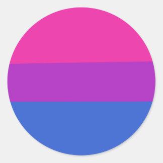 Bisexual love is love Awareness Pride Sticker