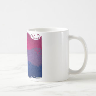 Bisexual Ornamental Flag Coffee Mug