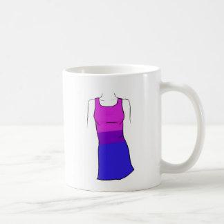 Bisexual Pride Dress Basic White Mug