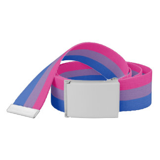 Bisexual Pride Flag Belt