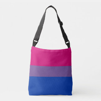 Bisexual Pride Flag Colors LGBT All-Over-Print Crossbody Bag