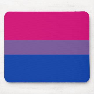 Bisexual Pride Flag Mouse Pad