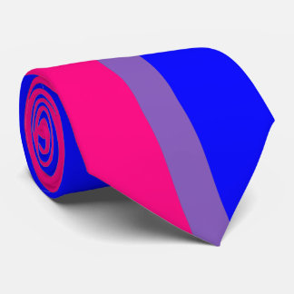 Bisexual Pride Necktie