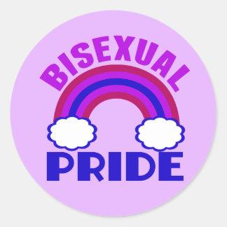Bisexual Pride Round Sticker