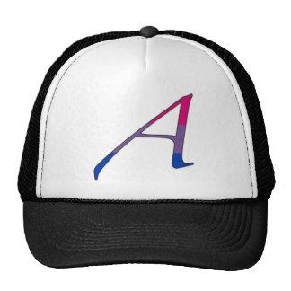 "Bisexual Pride ""Scarlet"" Letter A Trucker Hat"