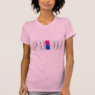 BISEXUAL PRIDE WORD FLAG T-Shirt
