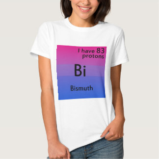 Bisexual science shirt