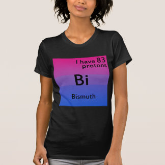 Bisexual science t-shirts