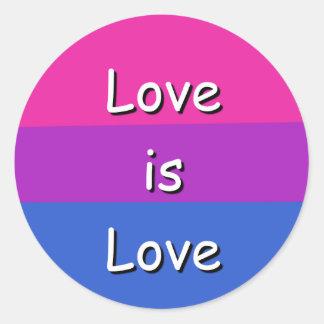 Bisexual Symbol Awareness Pride Sticker