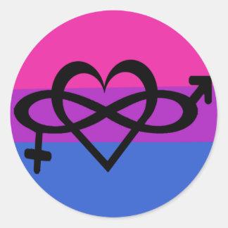 Bisexual Symbol Awareness Pride Sticker Love