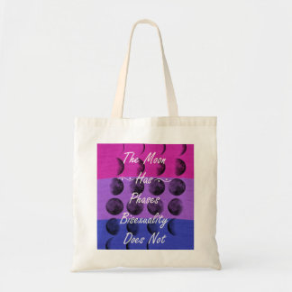 Bisexuality is not just a phase tote bag