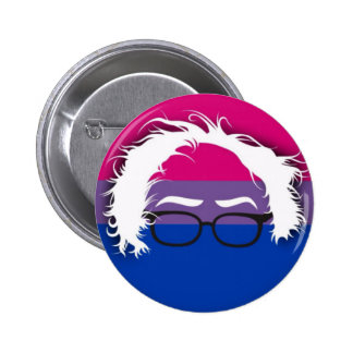 Bisexuals for Bernie Sanders 6 Cm Round Badge