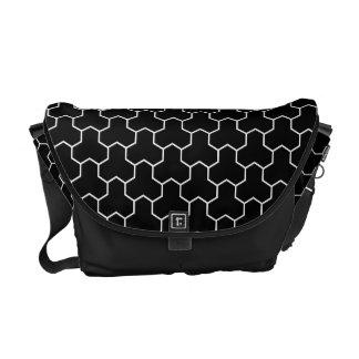 Bishamonkikkou Japanese Pattern Messenger Bag B