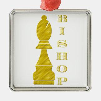 Bishop Metal Ornament