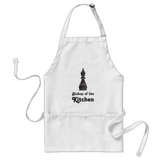 Bishop of the kitchen standard apron