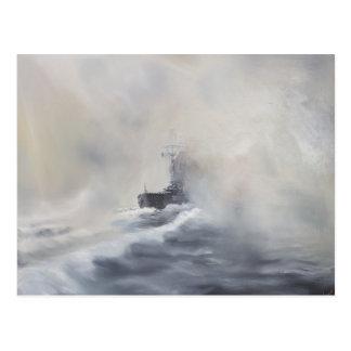 Bismarck evades her persuers May 25th 1941. 2005 Postcard