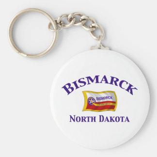 Bismarck, ND Key Ring