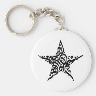 Bismillah Star Motif Key Ring