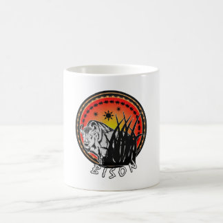 Bison - American Buffalo Sunburst Coffee Mug