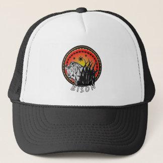 Bison - American Buffalo Sunburst Trucker Hat