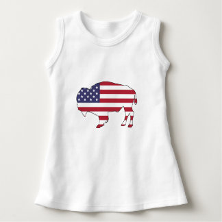 Bison - American Flag Dress