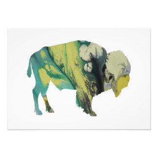 Bison art art photo