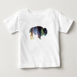 Bison art baby T-Shirt