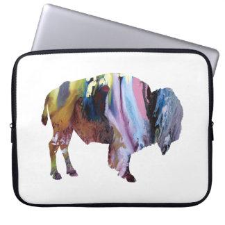 Bison art laptop sleeve