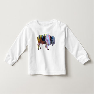 Bison art toddler T-Shirt