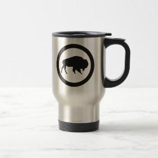 Bison Bay 15 oz Stainless Steel  Travel Mug