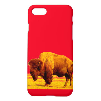Bison / Buffalo Art iPhone 7 Cases