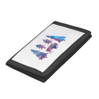Bison / Buffalo Tri-fold Wallets