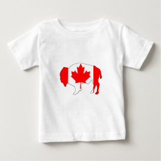 "Bison ""Canada"" Baby T-Shirt"