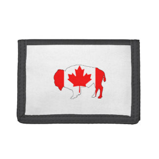 """Bison """"Canada"""" Trifold Wallet"""